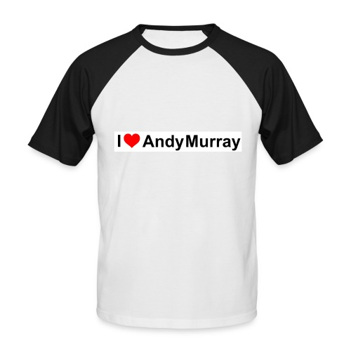 I heart Murray - Men's Baseball T-Shirt