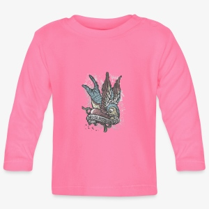 Vintage bird tattoo distressed - T-shirt