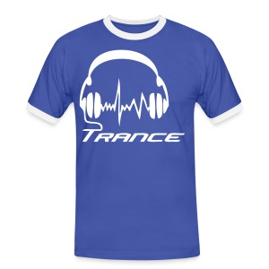 Trance headphones - Men's Ringer Shirt