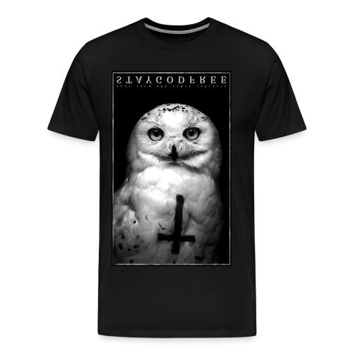 Owl..Männershirt - Männer Premium T-Shirt