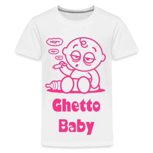 Ghetto Baby - Teenager Premium T-shirt