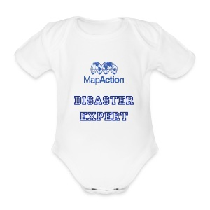Future MapActioner - Organic Short-sleeved Baby Bodysuit