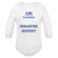 Baby Bodysuits ~ Baby One-piece ~ Future MapActioner - Long sleeve
