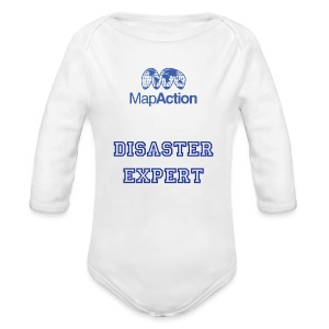 Future MapActioner - Long sleeve - Organic Longsleeve Baby Bodysuit