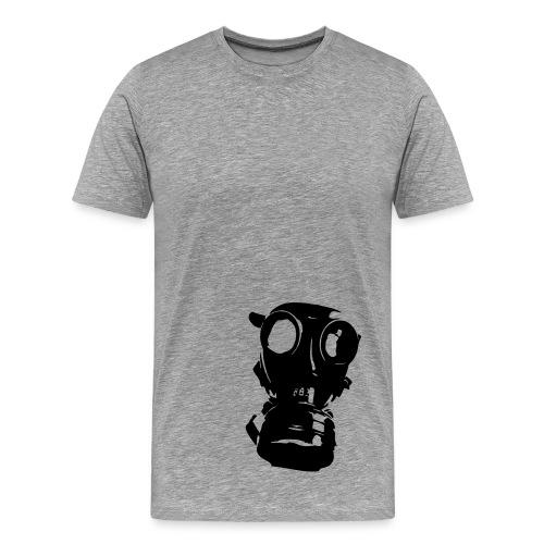 Gasmask man t-shirt - Men's Premium T-Shirt