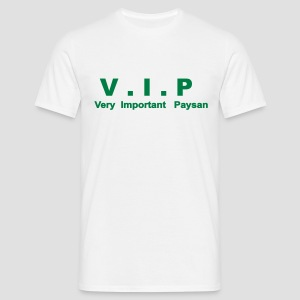 T-shirt homme V.I.P - Very Important Paysan - T-shirt Homme