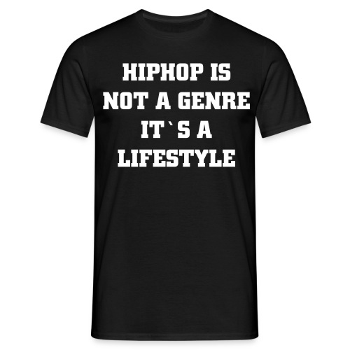 It´s a lifestyle! - T-shirt herr