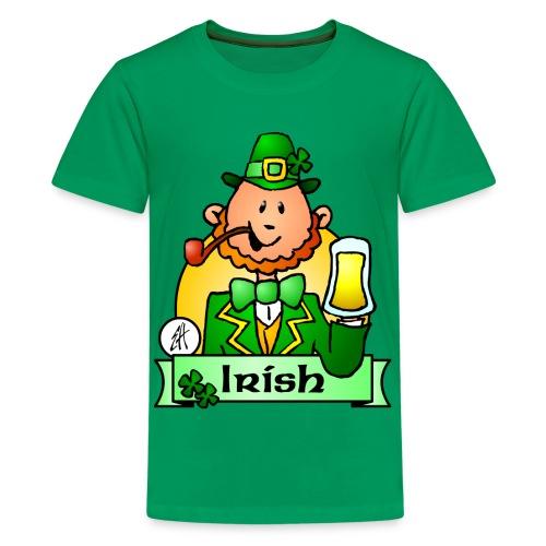 Premium T-skjorte for tenåringer