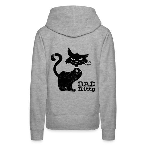 Bad Kitty Women´s Hoodie - Frauen Premium Hoodie