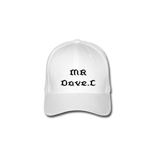 Mr.Dave.c full cap white style dancin is my life serie - Flexfit Baseballkappe