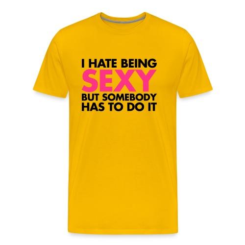 Men's Premium T-Shirt - mens tshirt , logo