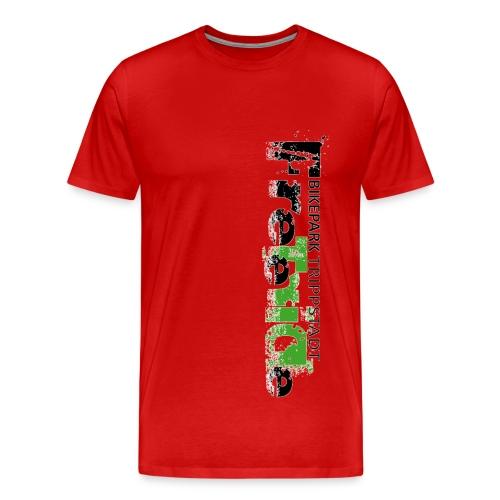 Vorder- und Rückseite bedruckt - Männer Premium T-Shirt