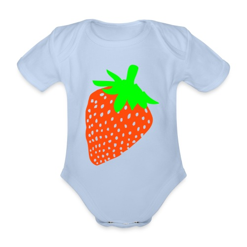Babys One Peice - Organic Short-sleeved Baby Bodysuit