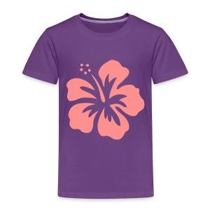 Girls Flower Tshirt - Kids' Premium T-Shirt