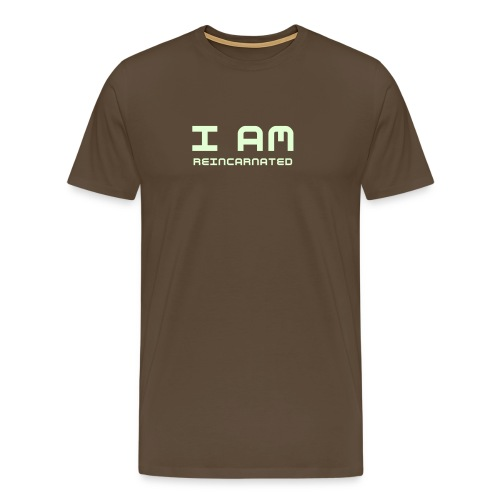 I AM Reincarnated - Premium T-skjorte for menn
