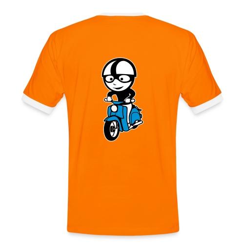 Schwalbenfahrer Comic Kontrast-Shirt - Männer Kontrast-T-Shirt