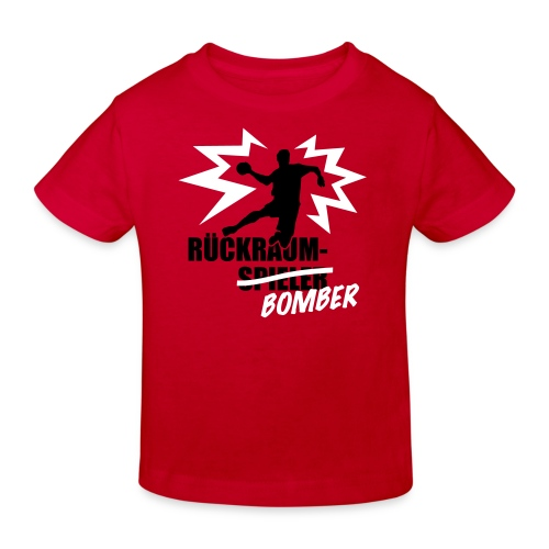 Rückraumbomber Kind - Kinder Bio-T-Shirt
