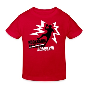 Rückraumbomberin Kind - Kinder Bio-T-Shirt