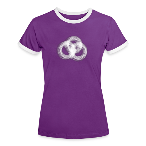Orasbaetattoo Logo - Frauen Kontrast-T-Shirt
