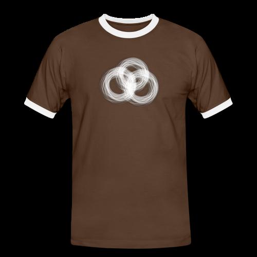 Orasbaetattoo Logo - Männer Kontrast-T-Shirt