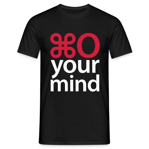 Open your mind - Mannen T-shirt
