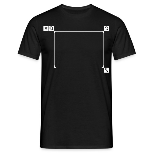 Edit shirt - Mannen T-shirt