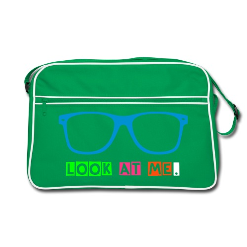 Look at me. - Retro Tasche