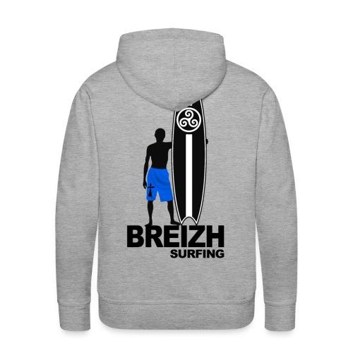 Breizh Bretagne surfing - Men's Premium Hoodie