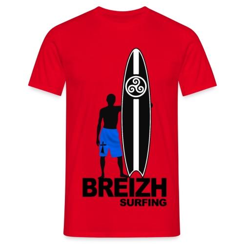 Breizh Bretagne surfing - Men's T-Shirt