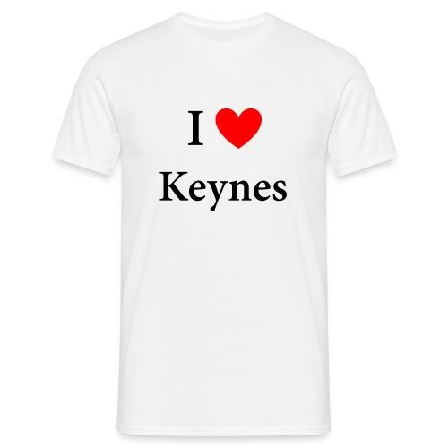 I Love Keynes - Männer T-Shirt