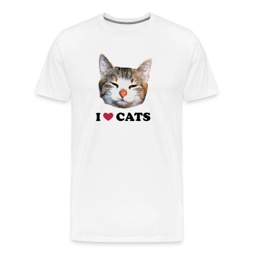 Blyger-shirt - Premium-T-shirt herr