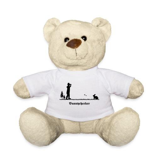 fun tier t-shirt bunnychecker bunny checker hase jäger bayern party - Teddy