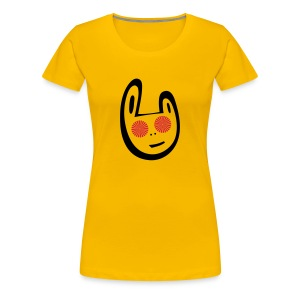 Power trance Bunny T-shirt - Women's Premium T-Shirt