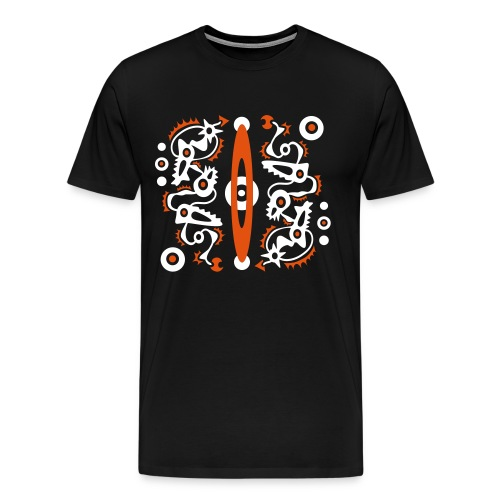 Tattoo Style Art Design - Männer Premium T-Shirt