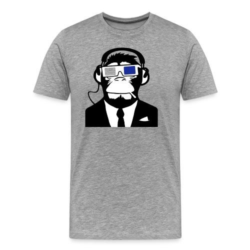 Monkey dj - Maglietta Premium da uomo
