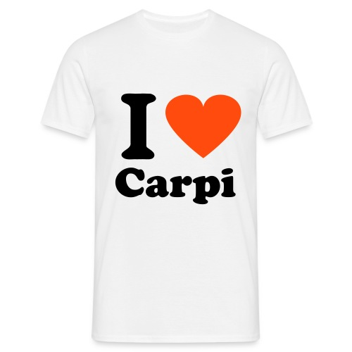 I love Carpi Man - Men's T-Shirt