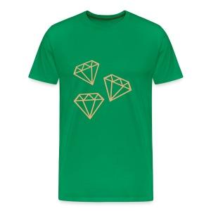 Tri Diamond t-shirt - Men's Premium T-Shirt