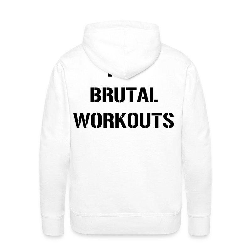 I Love Brutal Workouts - Männer Premium Hoodie