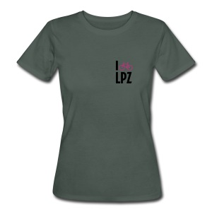 I Bike LPZ - Frauen Bio-T-Shirt
