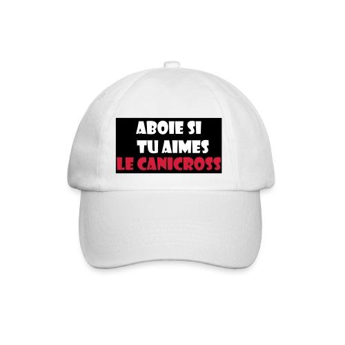 casquette aboie canicross - Casquette classique