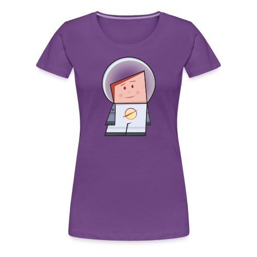 Spaceman - Maglietta Premium da donna