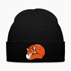 A sleeping fox Caps & Hats