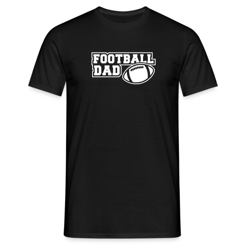Footballdad black/white - Männer T-Shirt