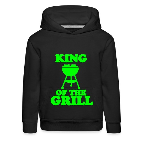 King of the Grill - Kinder Premium Hoodie