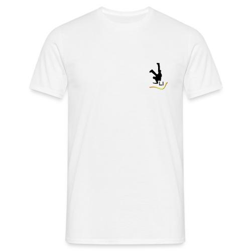 T2. T-shirt homme (logo noir) - T-shirt Homme