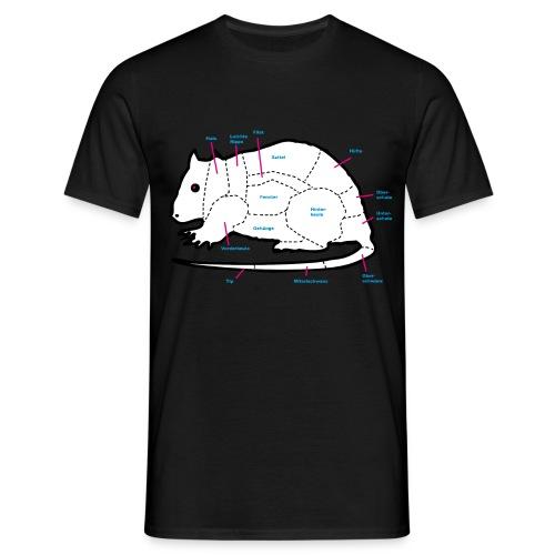 lecker ratte - Männer T-Shirt