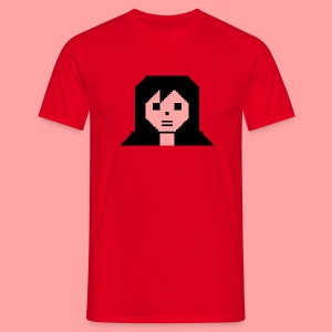 C64 CBM Girl - Men's T-Shirt