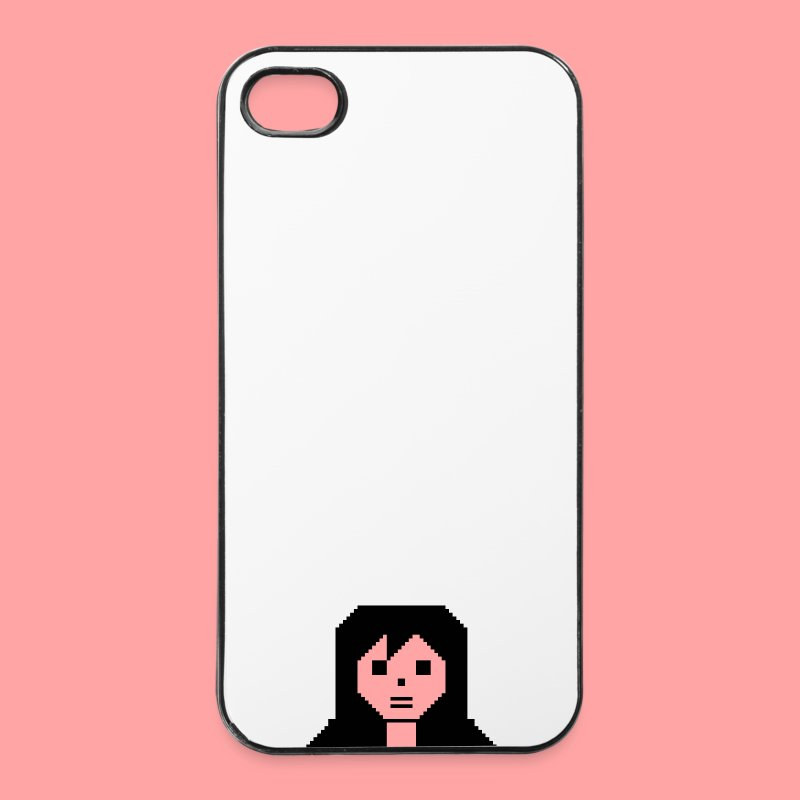 C64 CBM Girl - iPhone 4/4s Hard Case