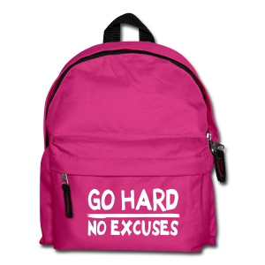 Sac à dos Go Hard - No Excuses #TOUGH GUYS - Sac à dos Enfant