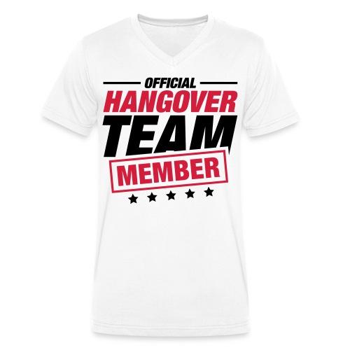 #Team Hangover  - Mannen bio T-shirt met V-hals van Stanley & Stella
